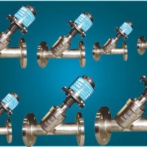 singlepiecepneumatic-y-typeangle-valves