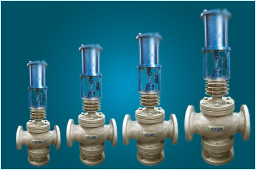 Thermic Fluid Cylinder Control Valves 3 Way