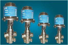 3 Way Mixing Pneumatics Control Valve